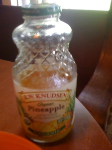 pineapple juice for dipping